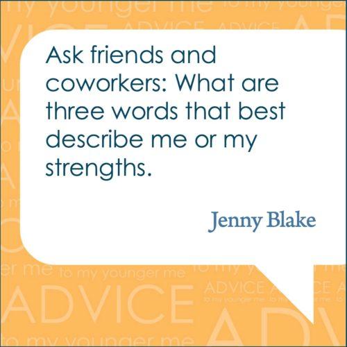 Jenny Blake Quote